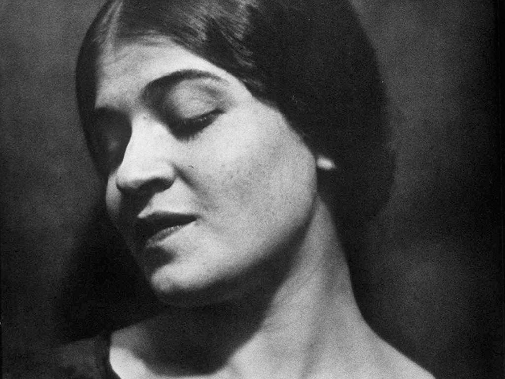 A 1924 portrait of photographer Tina Modotti taken by her lover, Edward Weston