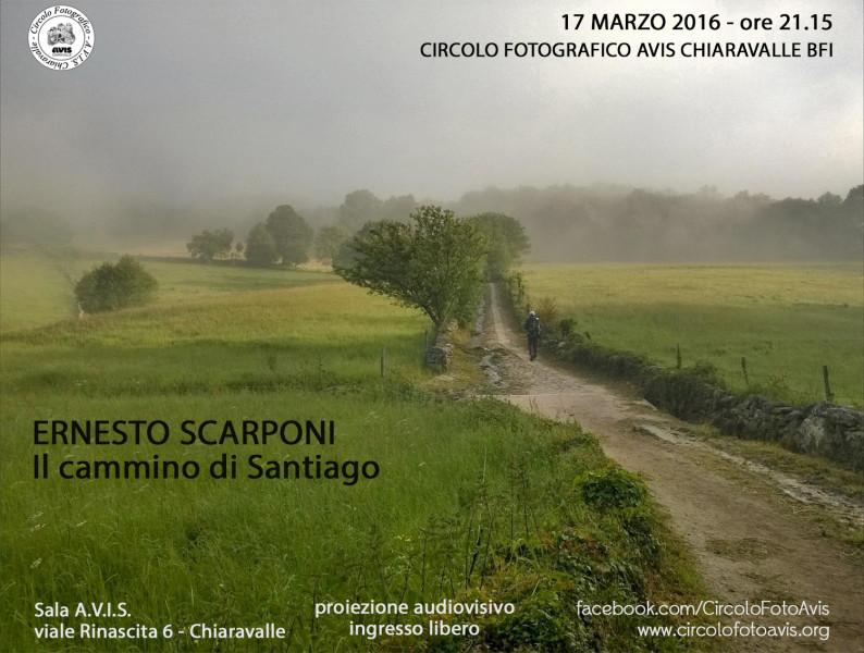 invito serata Ernesto Scarponi  2016