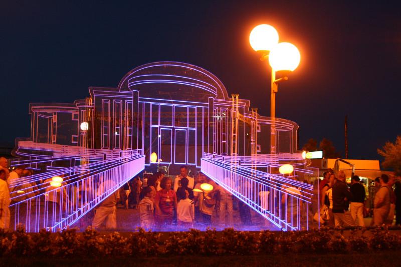 Settembre 2009 – Celestino Pimpini – Senigallia – notte della rotonda